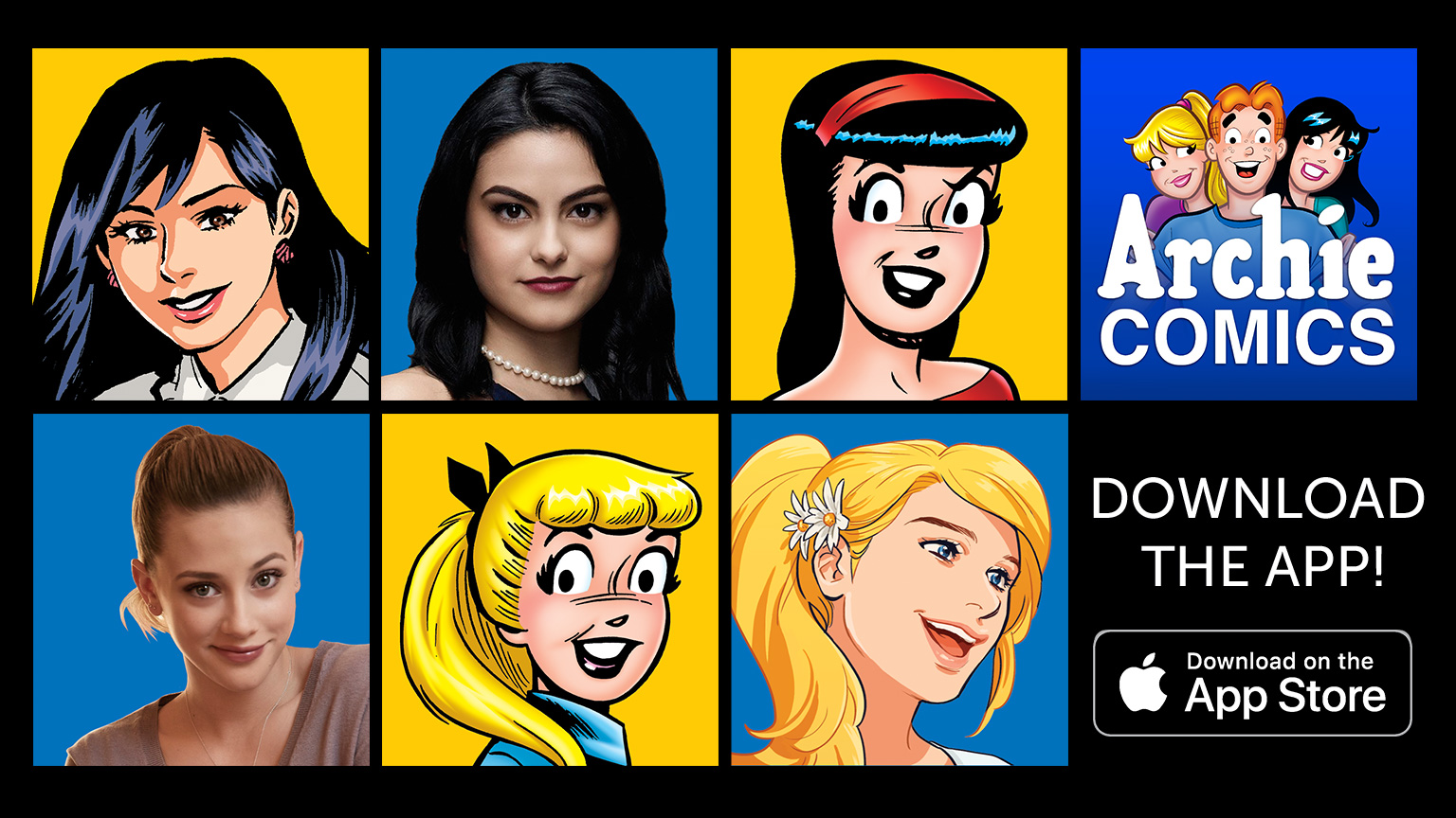 Cartoon Characters App : Riverdale on the cw archie comics