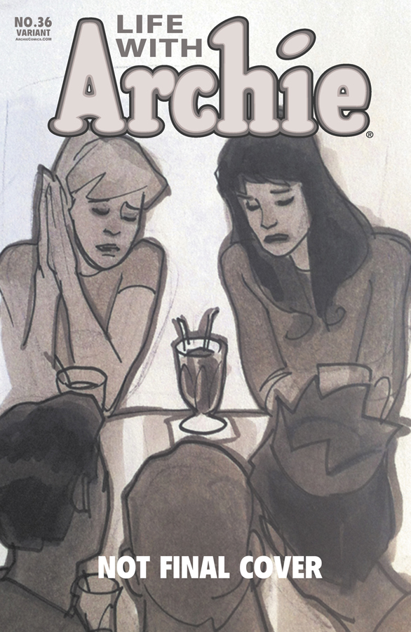 The Women Of Dc Comics Ink In Adam Withers S Dc Comics: Death Of Archie: Cover Artist Spotlight