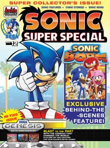 SONIC SUPER SPECIAL #12
