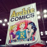 The Archie Comics Banner at NYCC  '14