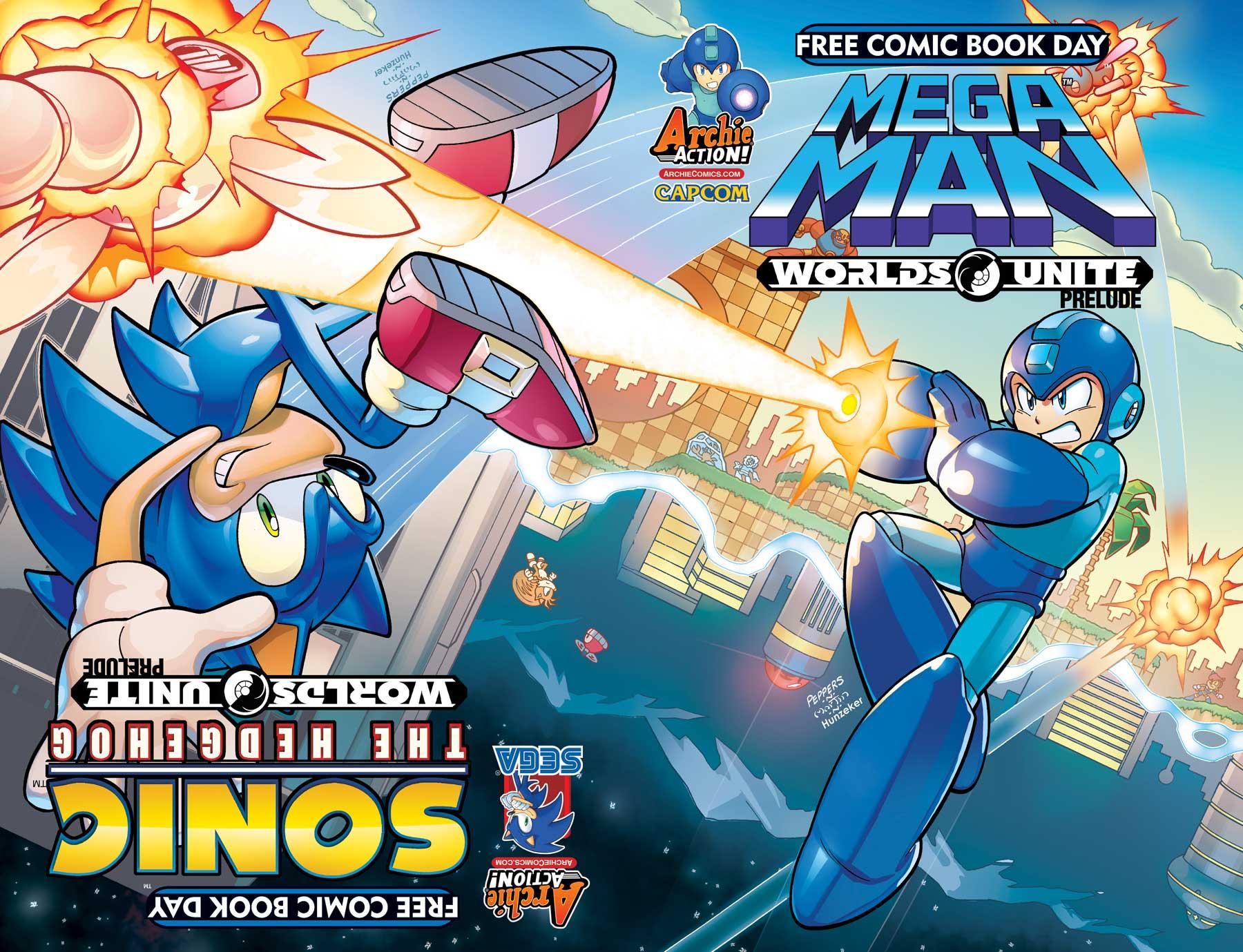 popular sega and capcom franchises join archie comics sonic mega
