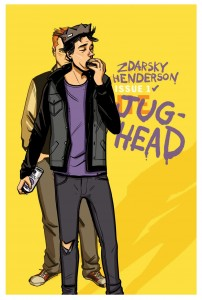 JUGHEAD #1 Variant Cover by Chip Zdarsky