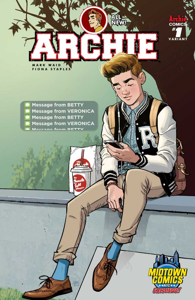 ARCHIE #1 Midtown Comics Variant by Cameron Stewart