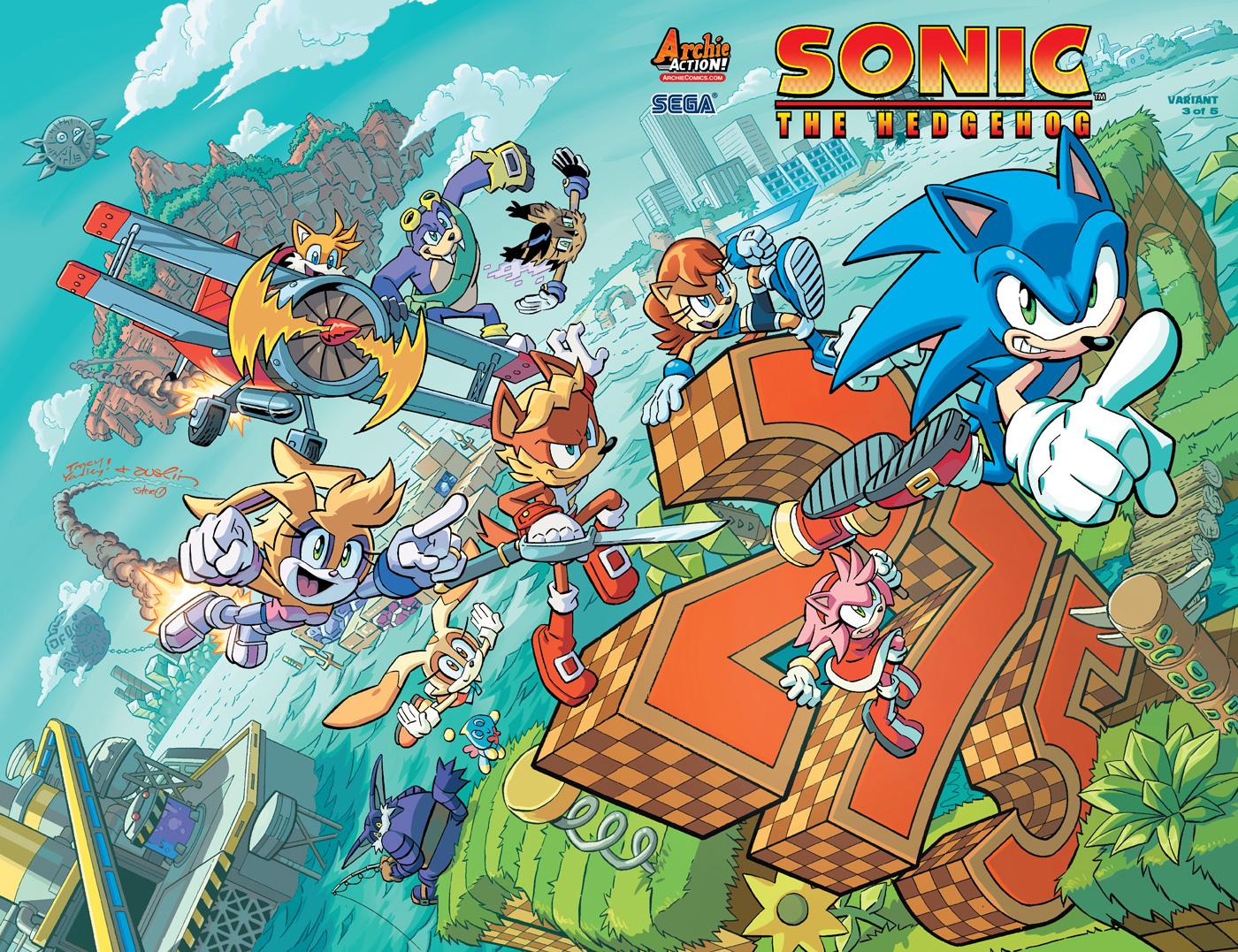 Sonic_275-0VD - Archie Comics