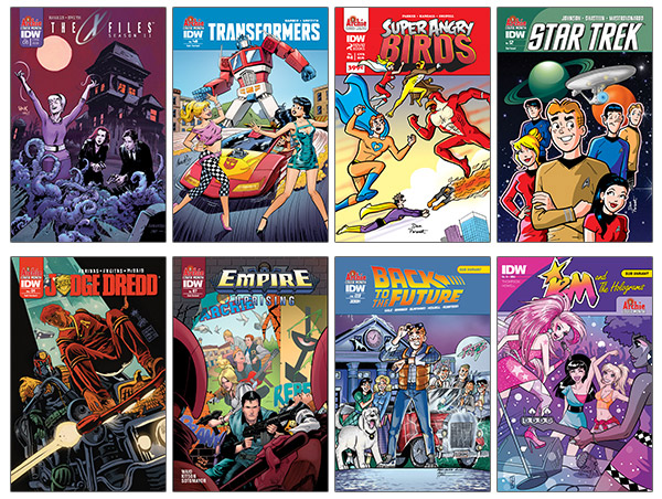 idw-archie-variant-covers