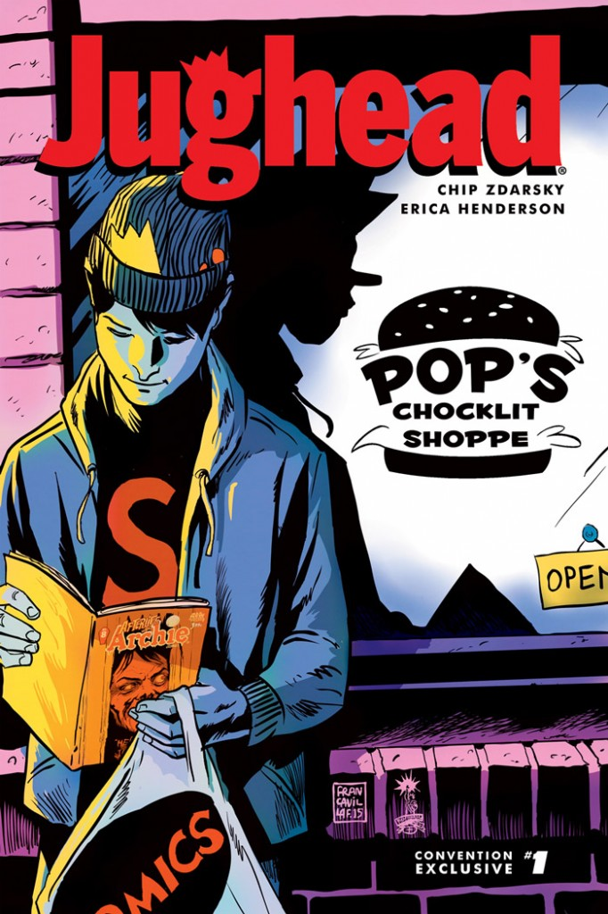 JUGHEAD #1 NYCC Exclusive Cover by Francesco Francavilla