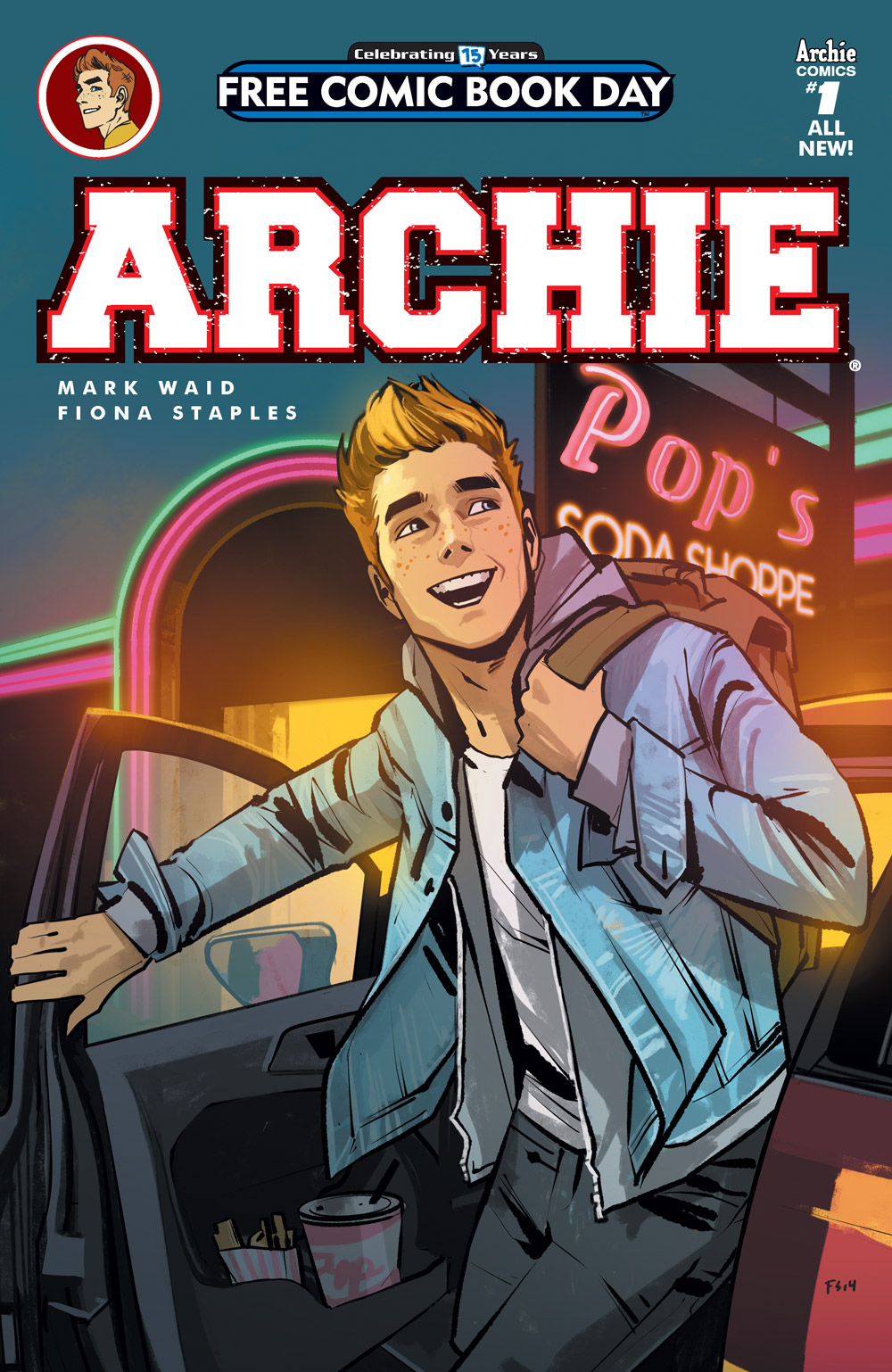 Modern Book Cover Generator : Archie comics offers a first look inside free comic book
