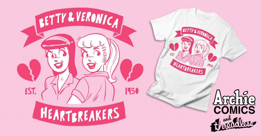 55f0d54ca839c Archie Comics Teams With Threadless To Launch New Line of Comic ...
