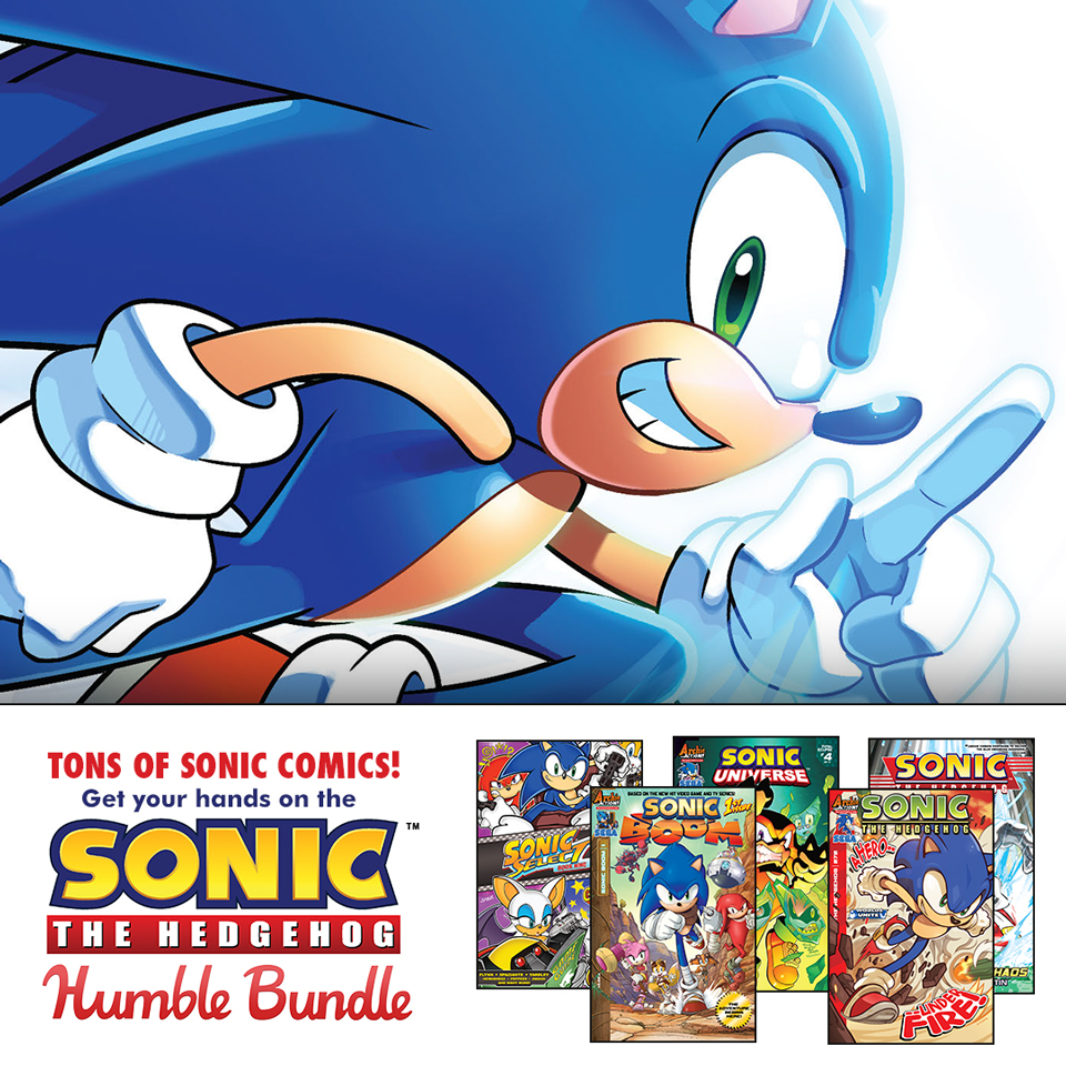 humble bundle and archie comics celebrate sonic the hedgehog s 25th