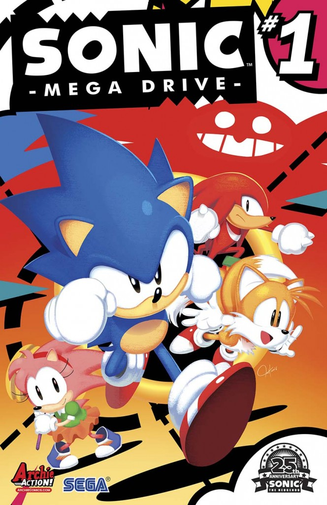 SONIC: MEGA DRIVE Cover by Tyson Hesse - Order Code: APR161265