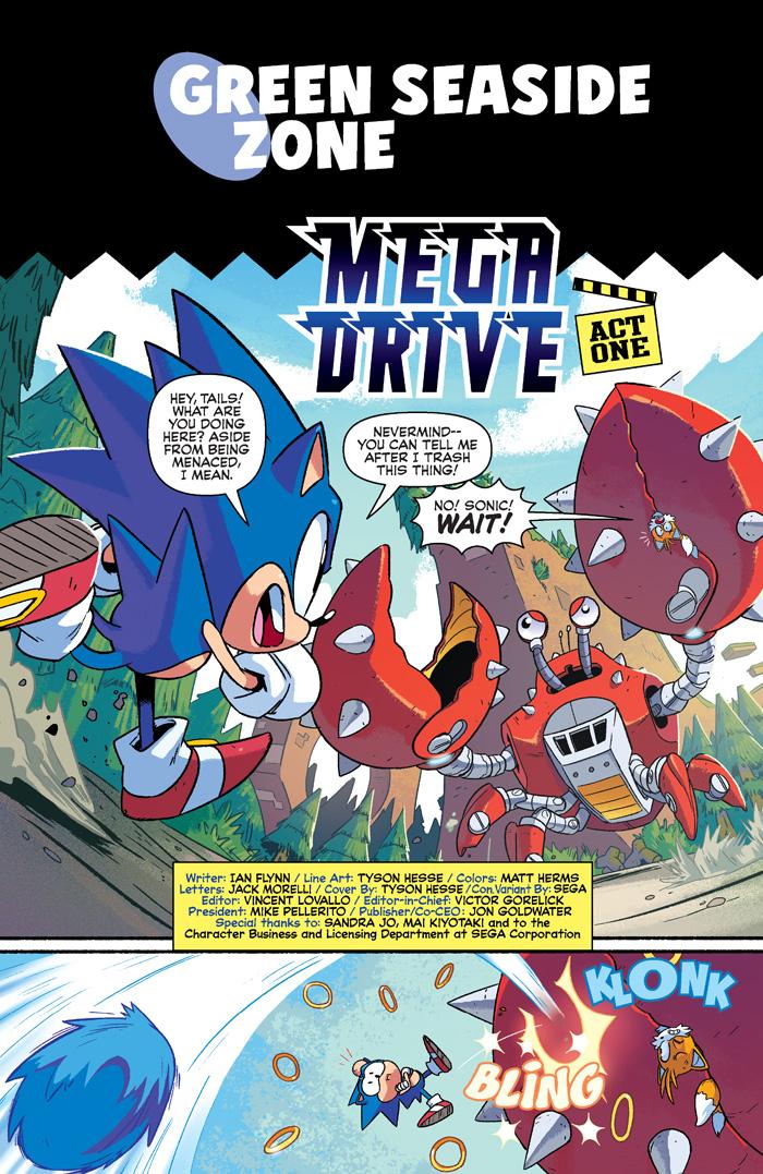 Sonicmegadrive 01 3 Archie Comics