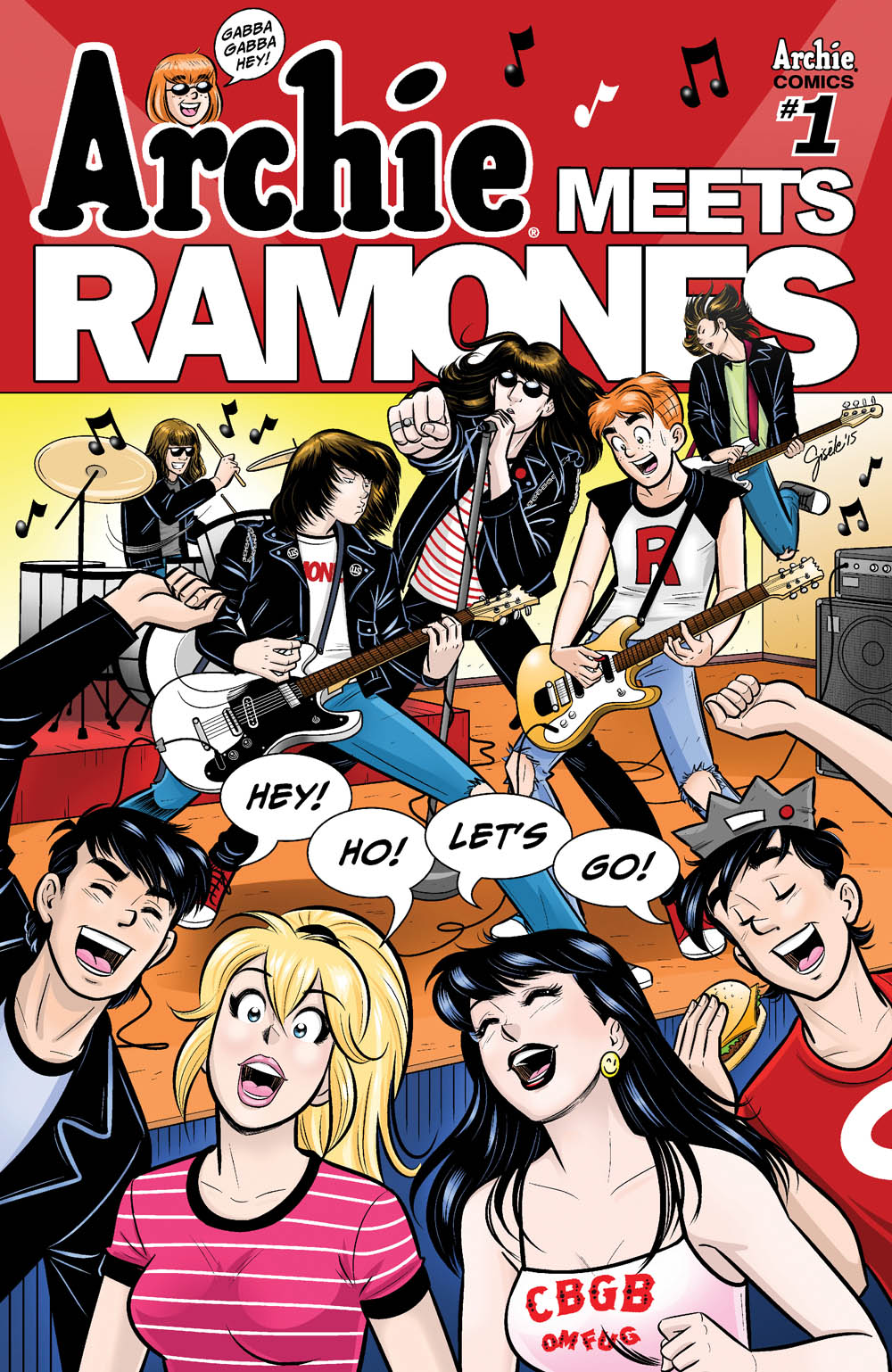 Take a first look inside ARCHIE MEETS RAMONES #1 and other
