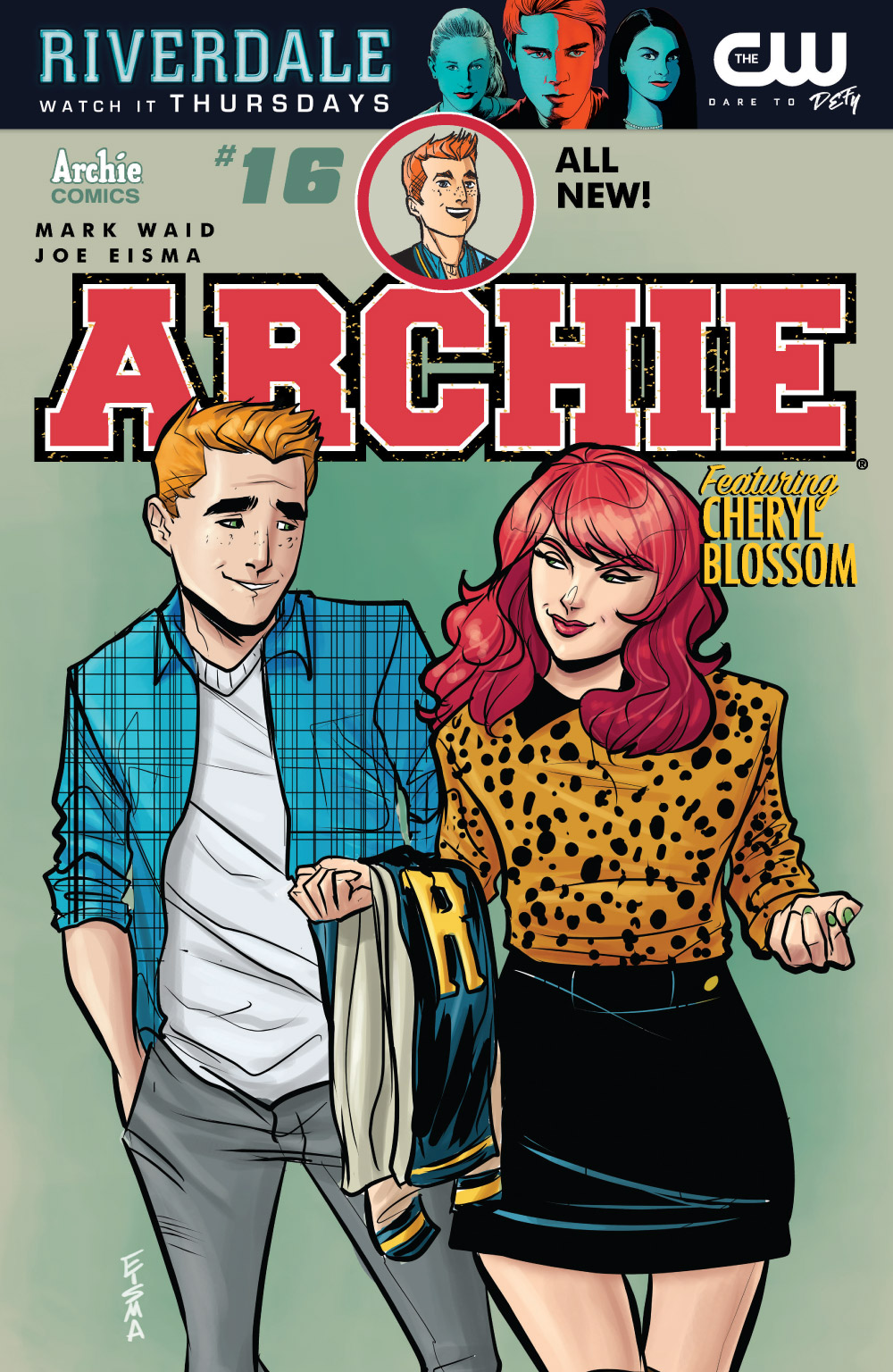 Check out a preview of ARCHIE #16 and more new Archie Comics on sale