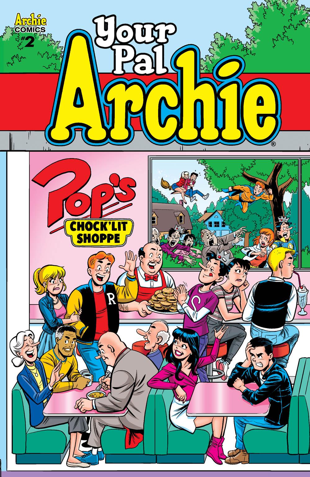 archie comics pal classic mclaine les comic solicitations august digest cvr sneak peek double
