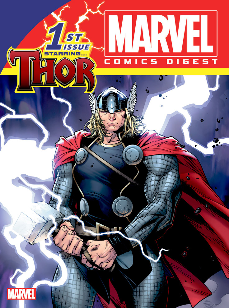 THOR brings the thunder in the new MARVEL COMICS DIGEST ...