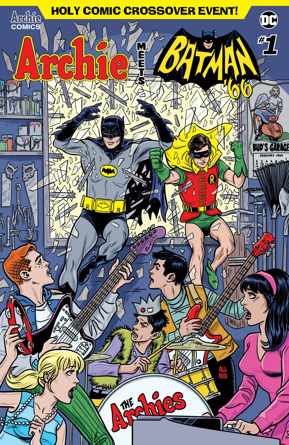 3ffa43387103 Batman and Robin are swinging their way to Riverdale and things are going  to get really wild