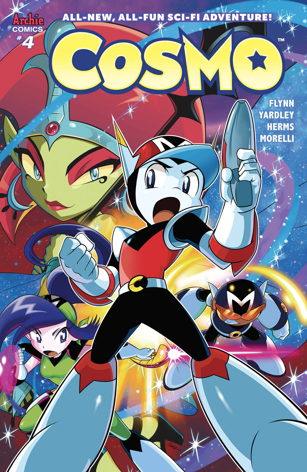 Cosmo the Merry Martian Returns from the Silver Age in