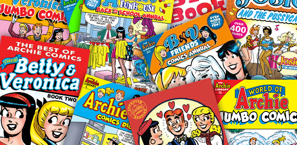 New Classic Archie Mystery Bundle!