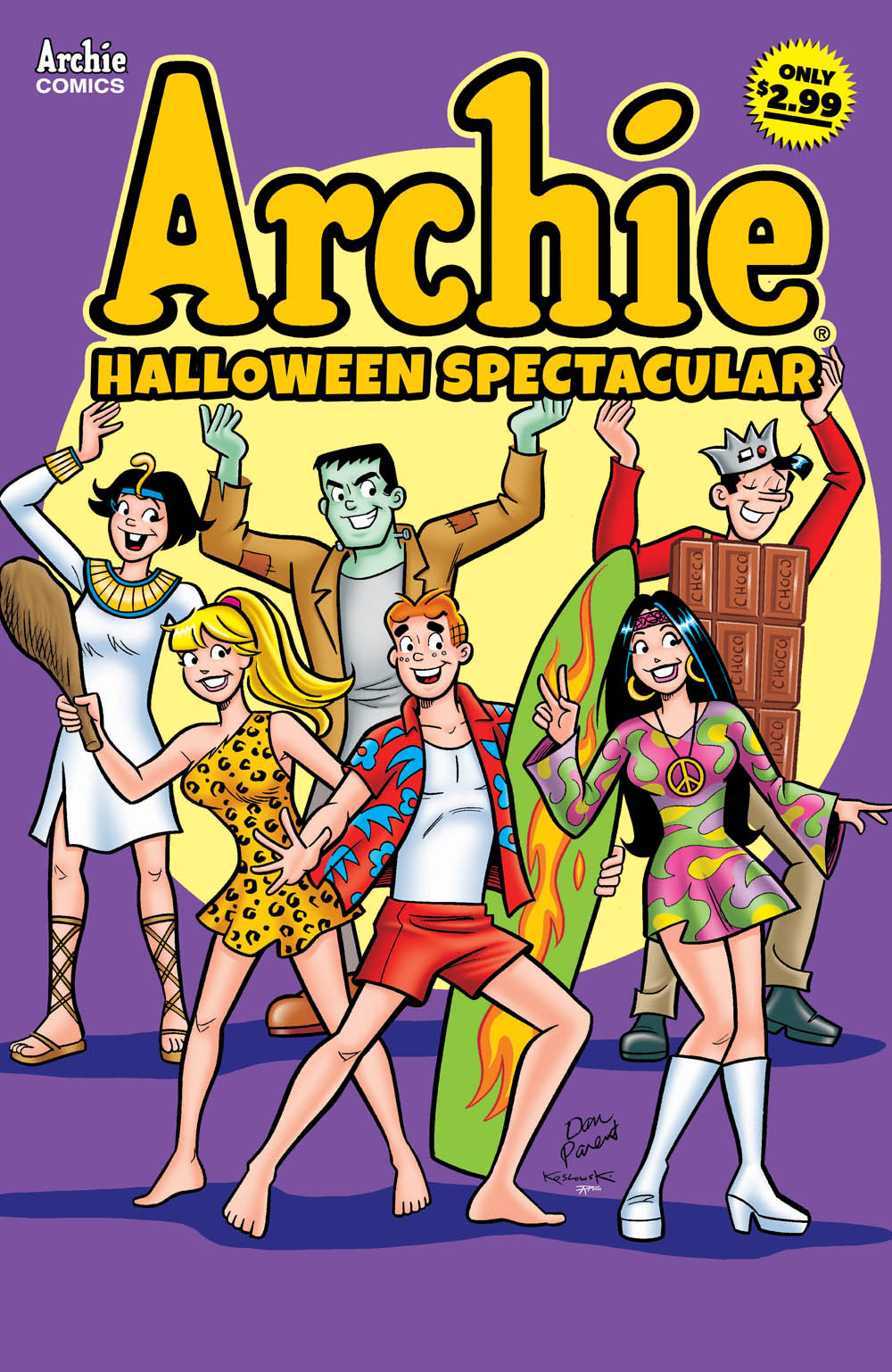 Get a sneak peek at the Archie Comics solicitations for