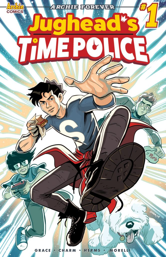 JUGHEAD'S TIME POLICE Returns To The Future In June From Sina Grace And Derek Charm 1