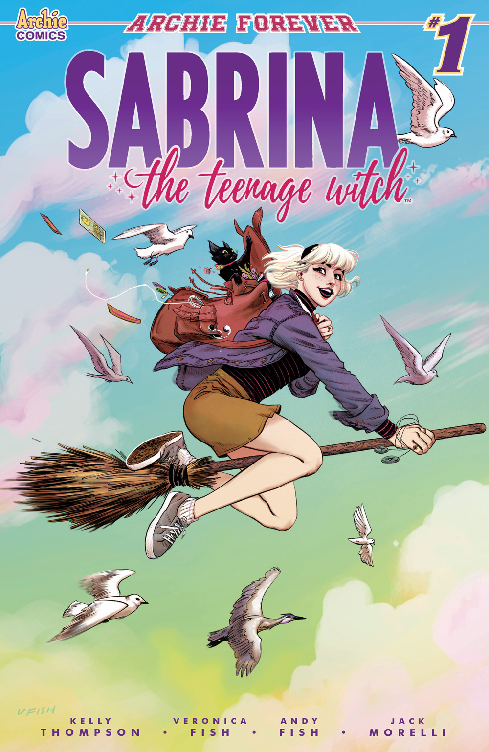Sabrina The Teenage Witch Is Back In An All New Comic Series Archie Comics