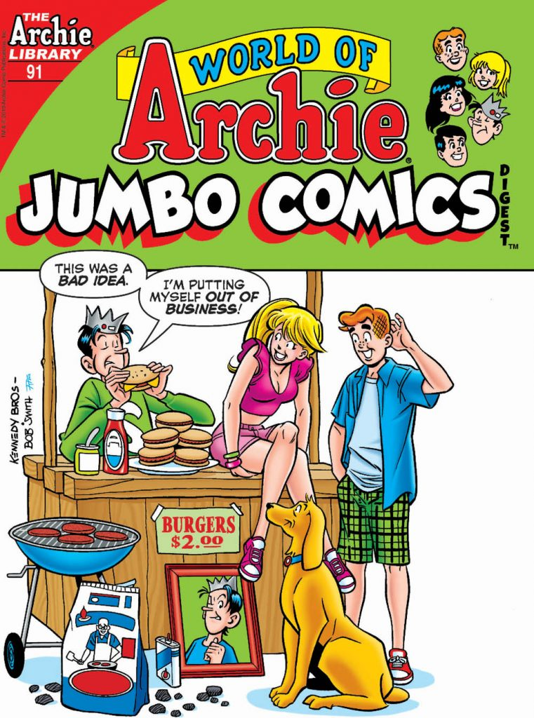 ARCHIE COMICS Solicitations For August 2019 12