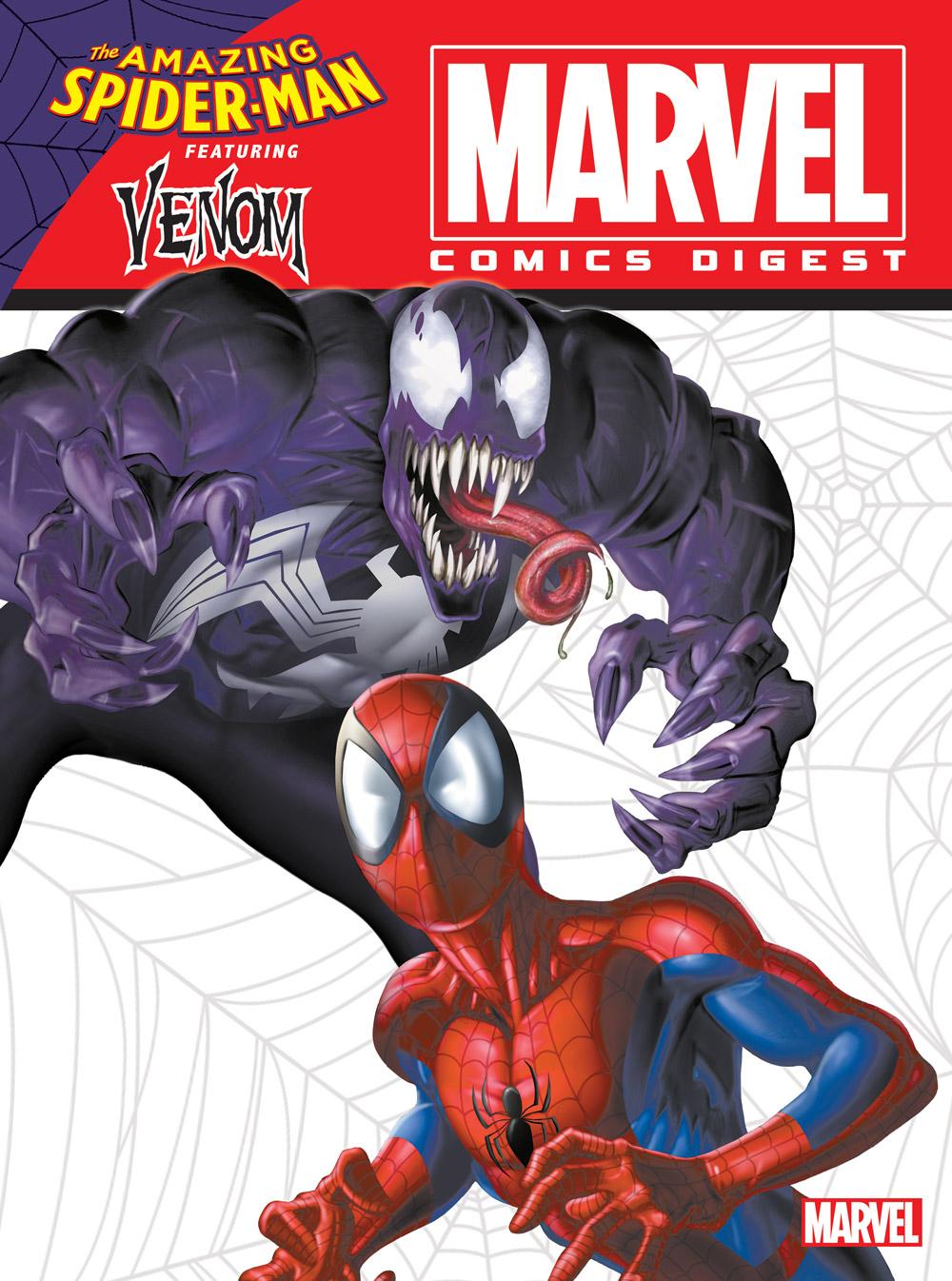 marvel comics digest #8 spider-man & venom - archie comics