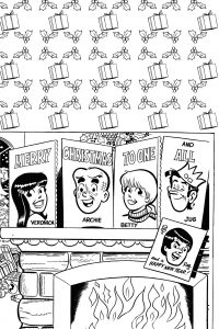 Archie S Holiday Coloring Book Archie Comics