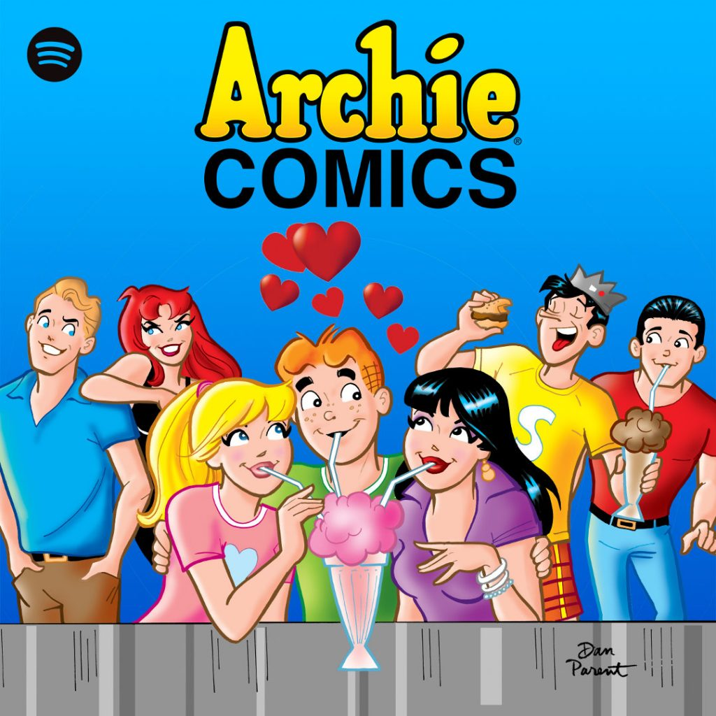 Archie Comics Spotify To Launch Slate Of New Podcast Series Archie Comics