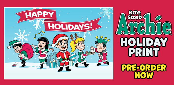 Bite Sized Archie Holiday Print!
